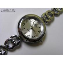 Timemaster ZQTIM 104/09.Damski stalowy zegarek na bransolecie.