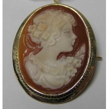 Broszka złota pr.585 BR10