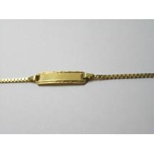Bransoletka złota pr.585 BD12