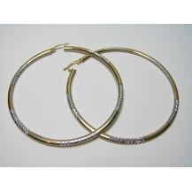 Kolczyki złote pr.585 KK4