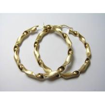 Kolczyki złote pr.585 KK8