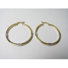 Kolczyki złote pr 585 KK147