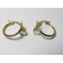 Kolczyki złote pr 585 KK144
