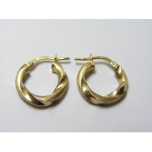 Kolczyki złote pr 585 KK153