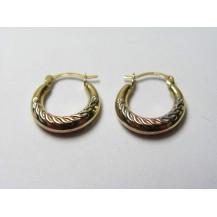 Kolczyki złote pr 585 KK151