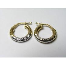 Kolczyki złote pr 585 KK152