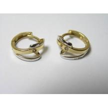 Kolczyki złote pr 585 KK131