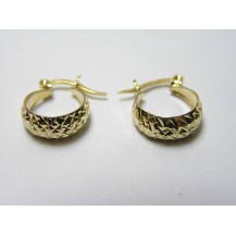 Kolczyki złote pr 585 KK138