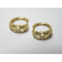 Kolczyki złote pr 585 KK135
