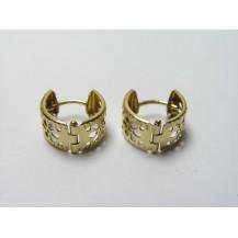 Kolczyki złote pr 585 KK137