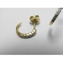 Kolczyki złote pr 585 KK136