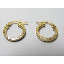 Kolczyki złote pr 585 KK141