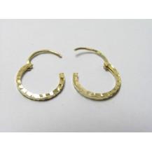 Kolczyki złote pr 585 KK142