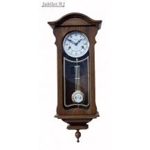 Adler 11 036.Zegar szafkowy-ścienny mechaniczny,mahoń.