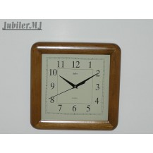 Adler 21047.Zegar ścienny drewniany-dąb.