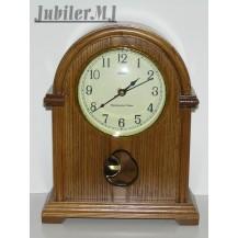 Adler 22019.Zegar stojący drewniany z kurantem.