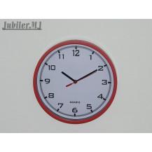 MPM E01.2477CZ.Zegar ścienny czerwony.