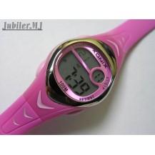 Xonix EL 005.Dziecięcy elektroniczny zegarek na pasku.