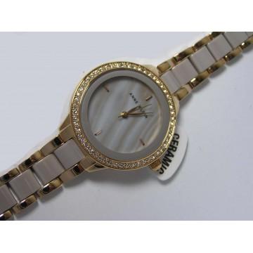 Seiko SUR792P1 zegarek damski na bransolecie w kolorze