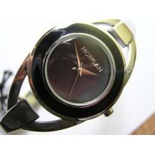 Morgan M1086B.Damski stalowy zegarek na bransolecie.